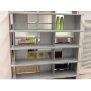 Ycami Libreria 170 X 170 X 32 In Alluminio