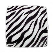 Plafon Sobrepor Quadrado Grande Zebra Preto Bivolt
