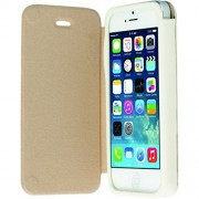 Krusell Malmo Flip Cover Case for iPhone 5/5S (White)