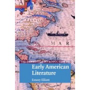 The Cambridge Introduction to Early American Literature by Emory Elliott