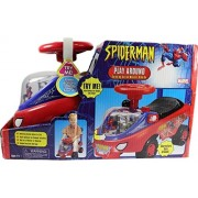 2003 Spider Man Play Around Spinning Action Musical Ride On