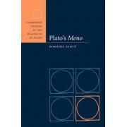 Plato's Meno by Dominic Scott