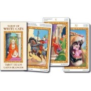 Tarot of White Cats Mini by Lo Scarabeo