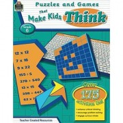 Puzzles and Games that Make Kids Think Grd 6