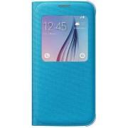 Husa tip S-View Samsung EF-CG920B pentru Galaxy S6 G920 (Albastra)