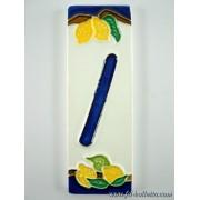 Numero civico ceramica limoni nlp16