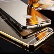 Луксозен Огледален Гръб С Метален Бъмпер За LENOVO VIBE K4 NOTE, A7010