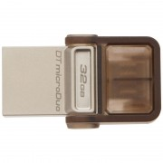 USB DRIVE, 32GB, KINGSTON Data Traveler DUO, OTG, USB3.0, Gold (DTDUO3/32GB)
