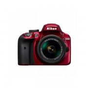 Aparat foto DSLR Nikon D3400 24.2 Mpx Kit AF-P 18-55mm VR Red