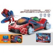 3d lights spider man avengers 2 car