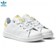 adidas Originals Kids Stan Smith Trainers Guld och Vit Barnskor 27.5 (UK 10)