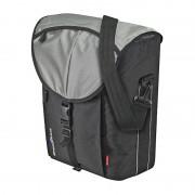 KlickFix Cita GTA Gepäckträgertasche schwarz/silber Gepäckträgertaschen