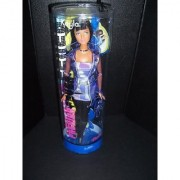 Fashion Fever african-American Kayla Doll in Purple Dress See-thru Jacket Black Tight and Boots