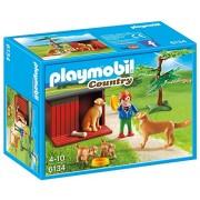 Playmobil 6134 Golden Retriever With Puppies