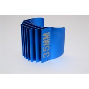 Aluminium Motor Heat Sink Mount 35mm For 1/10 05, 540, 360 Motor - 1Pc Blue