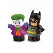 Fisher-Price - W6172 - Little People - DC Super Friends - Batman y Joker