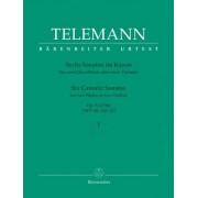 Bärenreiter Telemann: Six Sonatas in Canon, Op.5 (Urtext), Vol. 1 Nos. 1 - 3