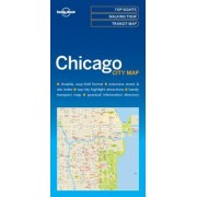 Lonely Planet Chicagocity Map
