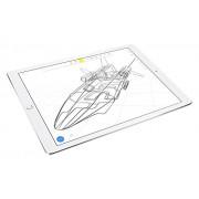 Apple iPad Pro 128GB Plata - Tablet (Tableta de tamaño completo, IEEE 802.11ac, iOS, Pizarra, iOS, Plata)
