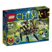 LEGO Legends Of Chima - Playthèmes - 70130 - Jeu De Construction - Le Tank Araignée De Sparratus