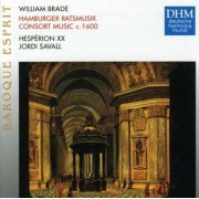 Jordi Savall - Brade: Hamburger Ratsmusik ( Consort Musi (0054727747625) (1 CD)