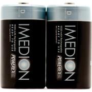 Baterías Recargables POWEREX MHRDI2 IMEDION - PACK 2 Baterías D NiMH 1,2v 9500mAh