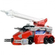 Takaratomy Tomica Hyper Rescue Powered Vehicle 02 Powered Fire Engine(Red)