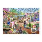 1000 Piece DeLuxe Jigsaw Puzzle - At The Garden Centre by The House of Puzzles