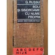 Boli Si Sindroame Cu Nume Proprii Vol. 1 - G. Russu
