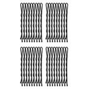 Set agrafe BOB PIN negre - kimio784