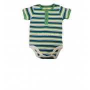 Small Wonders - Body Baby Striped Green