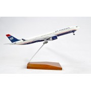 GeminiJets US Airways Airbus A330-300 Diecast Airplane Model N274AY With Stand 1:400 Scale Part# GJUSA1142
