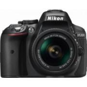 Aparat Foto DSLR Nikon D5300 Dual Zoom Kit AF-P 18-55 VR+ 55-200 VR II Negru