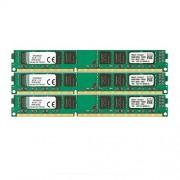 Kingston KVR13N9K3/24 Memoria RAM da 24 GB, 1333 MHz, DDR3, Non-ECC CL9 DIMM Kit (3x8 GB), 240-pin, 1.5 V
