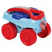 Jucărie de construit în maşinuţă Abrick Maxi Écoiffier 7713 albastru