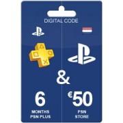 Sony 180 dagen PSN + 50 euro