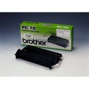 Brother Original Thermo-Transfer-Rolle mit Kassette PC70
