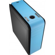 Aerocool DS200 Zwart, Blauw computerbehuizing