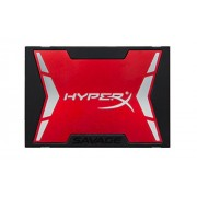 "Kingston HyperX SHSS37A/120G Savage SSD, 120GB, SATA 3, 2.5"", Rosso/Nero"