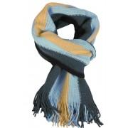 Marmor Blue pánská zimní šála modrá