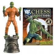 Batman Killer Croc Black Rook Chess Piece with Magazine by Eaglemoss Publications