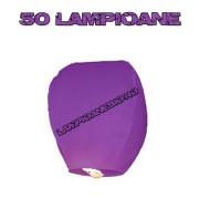 50 Lampioane Zburatoare Mov