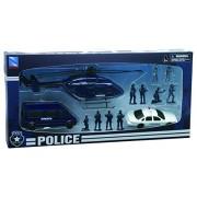 NEWRAY 63345 - Play Set, Police Rescue Units, Scala 1:32