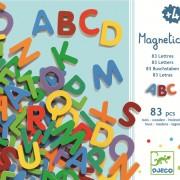 83 Litere magnetice Djeco