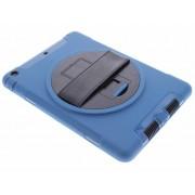 Blauwe defender tablethoes met strap voor de iPad Air