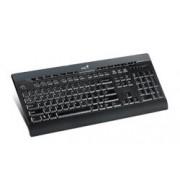 Teclado Genius SlimStar 220 Pro, USB, Negro (Español)