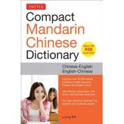 Tuttle Compact Mandarin Chinese Dictionary: Chinese-English English-Chinese [All Hsk Levels, Fully Romanized]