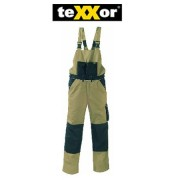 teXXor Canvas 320 2-in-1 Work Trousers with Cordura Reinforced, beige, 20-008330-27