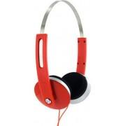 Casti 4World 08252, Stereo, 1.5m (Rosii)