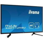 Ecran 39.5' LED - ProLite X4071UHSU-B1 3840 x 2160 pixels - 3 ms - Format large 16/9 - 4K - Dalle MVA - HDMI - DisplayPort - Hub USB - Noir
